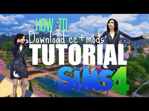 how to install sims 4 mods