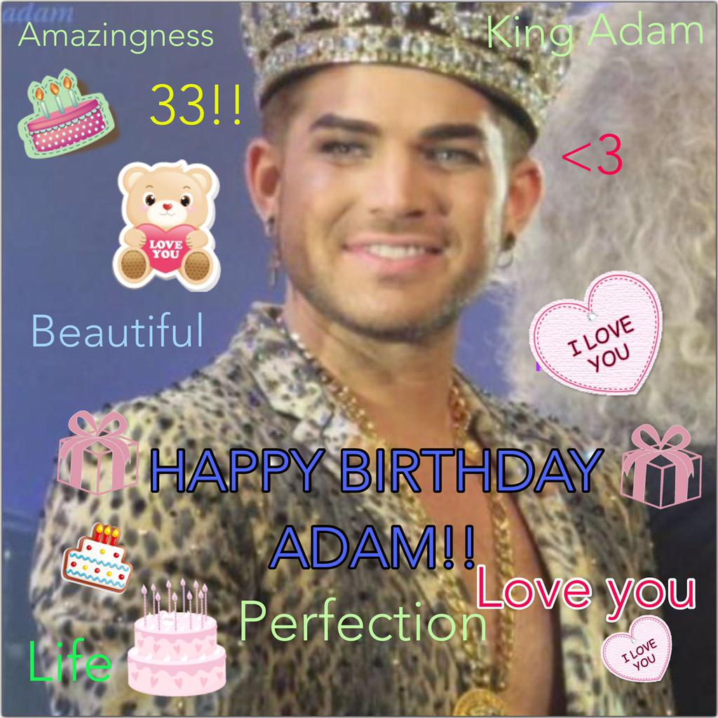1.29.15 Happy Birthday Adam!!! Album Title Revealed