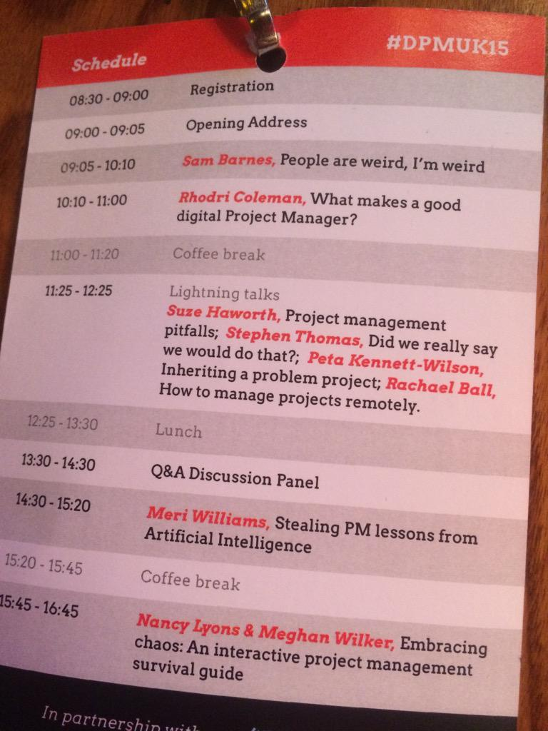 Day 2 at #dpmuk http://t.co/3eloDKpNqs