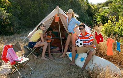 camping gangbang