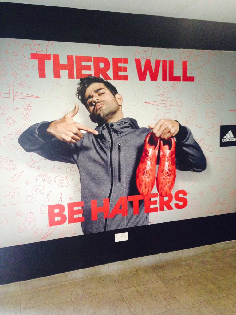 Seems to sum it up perfectly. Well done @adidasUK #chelseafc #DiegoCosta http://t.co/IR4Sb1UELc