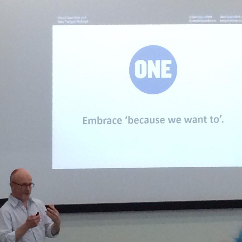 #embrace that people just want to do it! Be #creative #make stuff  #pfcdnd http://t.co/N3Y19J8ocj