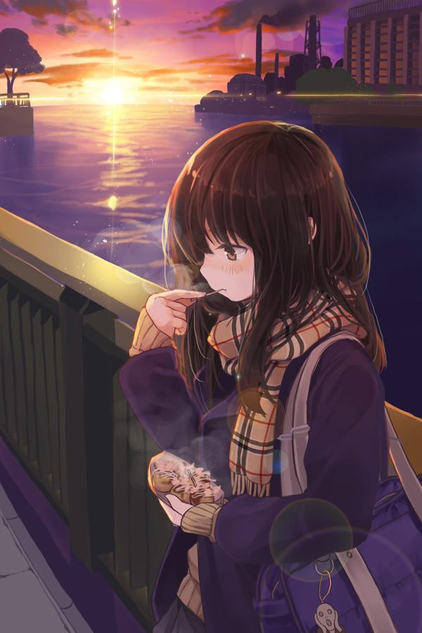 初めての買い食いで「母さんにバレたら怒られちゃうなぁ」と心配する女の子と一舟のたこ焼きを分け合いながら、ちょっとしたドキドキと後ろめたさを共有したい pic.twitter.com/w3PsU21zzt