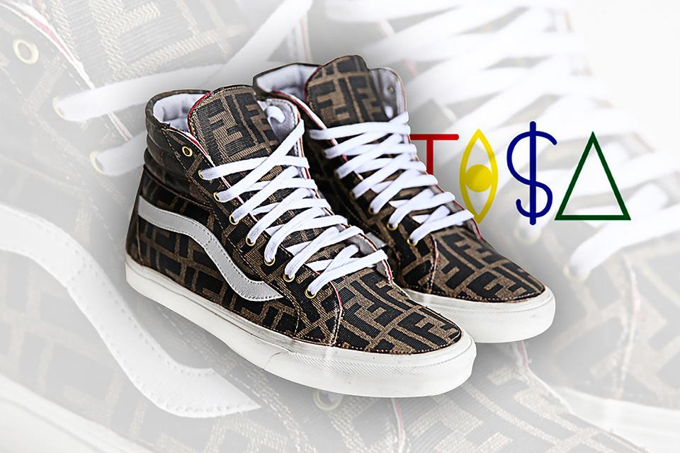 """@XXL: Vans x TI$A ""Vintage Fendi"" collection http://t.co/8xBVj8krb0 http://t.co/tY5Be0388c"" @tAzArnold TI$A Style Crew!"