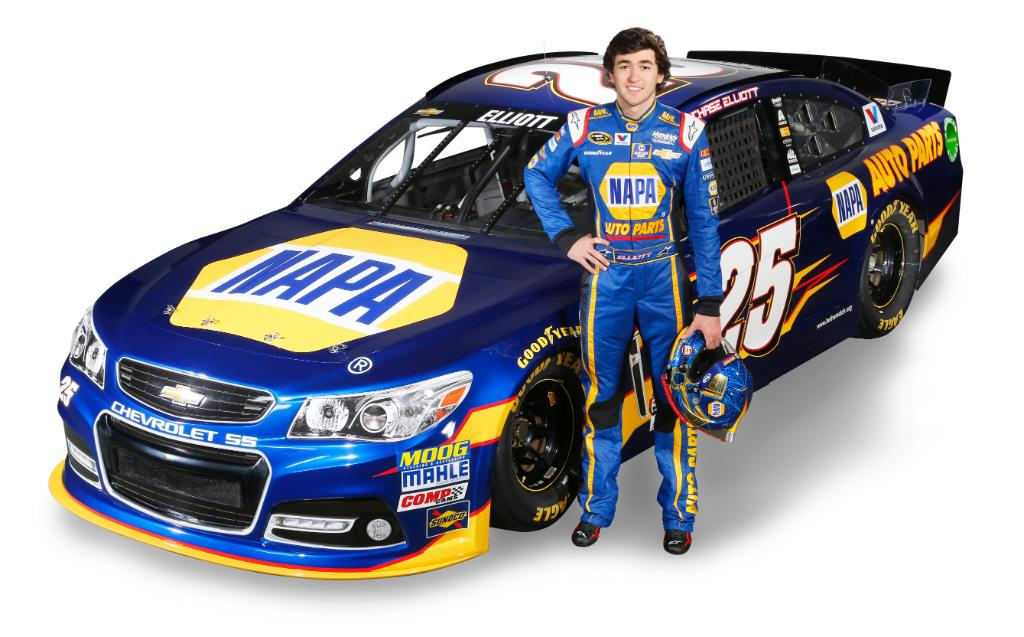 @ChaseElliott gets the call! He'll be in 5 @NASCAR Sprint Cup races in 2015. We couldn't be prouder! http://t.co/GYZOYhuu4c