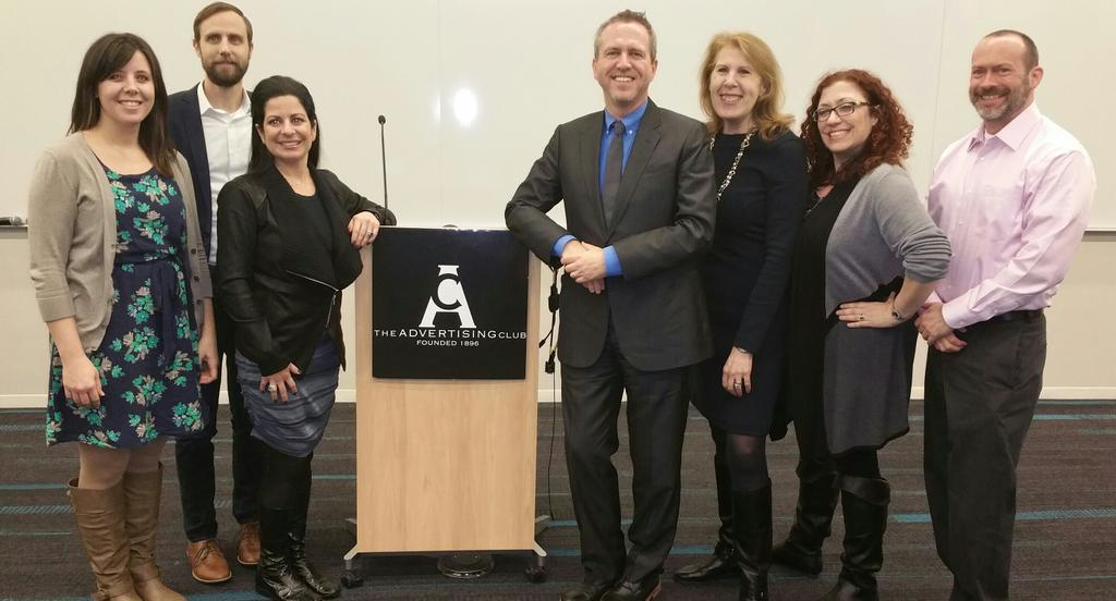 Our @IHOP team at MRM//McCann with Kirk Thompson, VP Marketing at IHOP. Great way to close @AdClubNY #MeasurementNow http://t.co/8gnlxE36qg