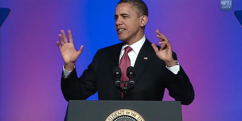 Barack Obama Shows Off His Funky Side Singing 'Uptown Funk' By Mark Ronson http://t.co/NTwwgcui9i http://t.co/ZqgoQkKJtL