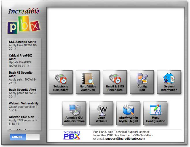 The Gotcha-Free PBX: Incredible PBX for Asterisk-GUI Application