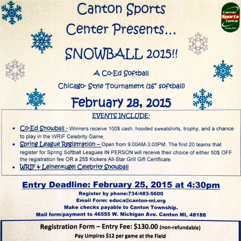 Canton Sports Center on Twitter: