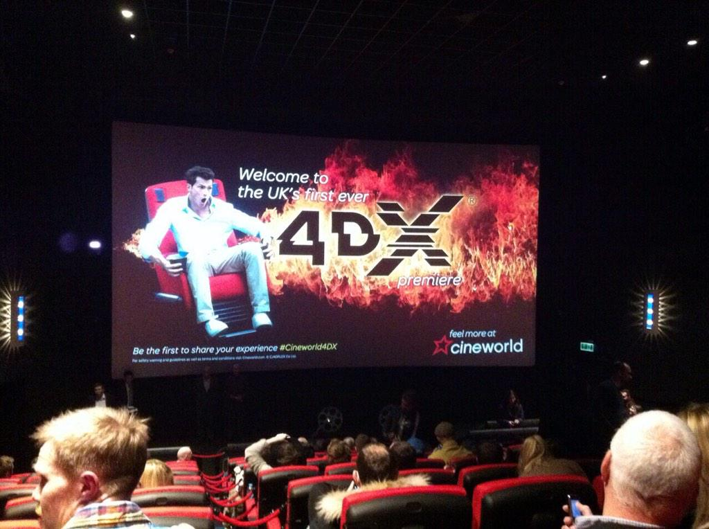 Hold on tight! Ready for the UK's first showing of #4DX @cineworld http://t.co/XAXqCoDjzT