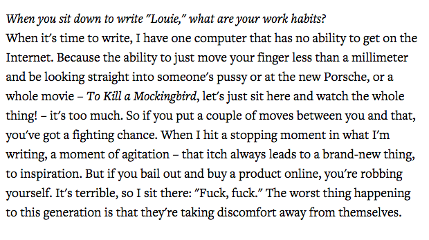 Amazingly well articulated thoughts by Louis CK. H/t @jonward11  http://t.co/pZadl5EGw1 http://t.co/2bkdjTJMnD""