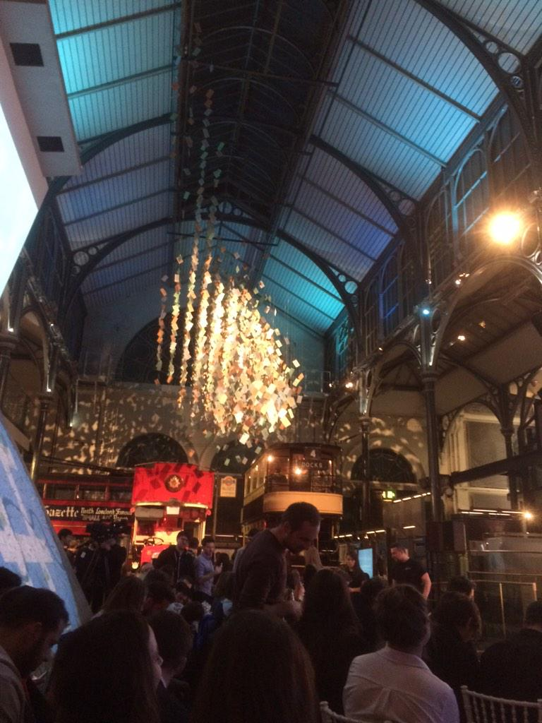 RT @DrBadger: Epic venue for #FurtherFaster with @twitter at the British Transport Museum! @SpreadingJam http://t.co/IyLbmRpyie