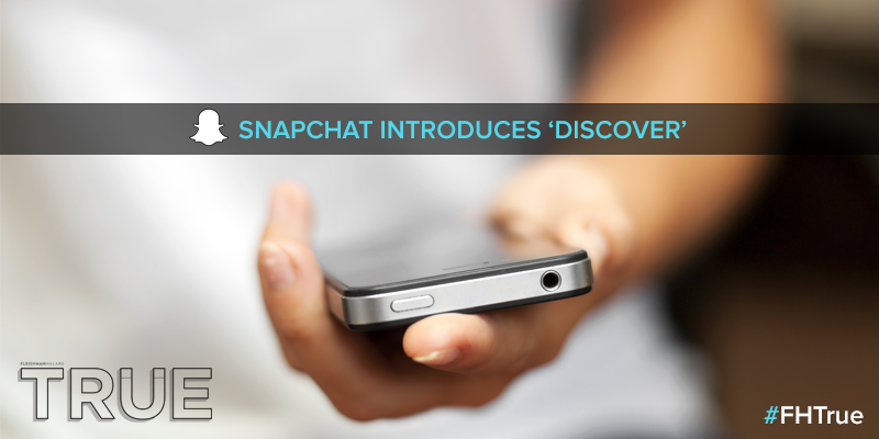 Will @Snapchat's shift to media affect brands? @ephraimcohen talks #SnapchatDiscover: http://t.co/bBKUB4OiIt #FHTrue http://t.co/HG21Ni1gWJ
