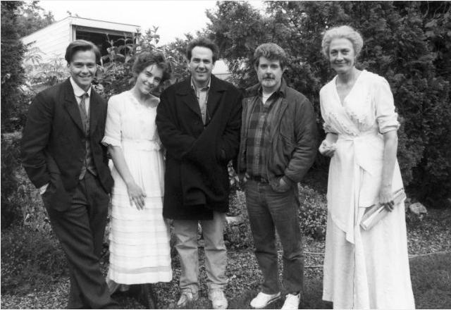 RT @GIRODPATRICE: Young #IndianaJones Chronicles @seanflanery @ElizabethHurley producer Rick McCallum, George Lucas & Vanessa Redgrave http…