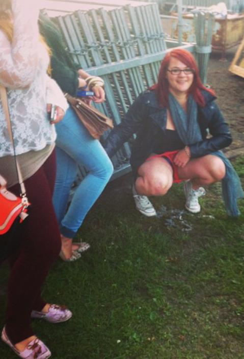 Redheads peeing pics