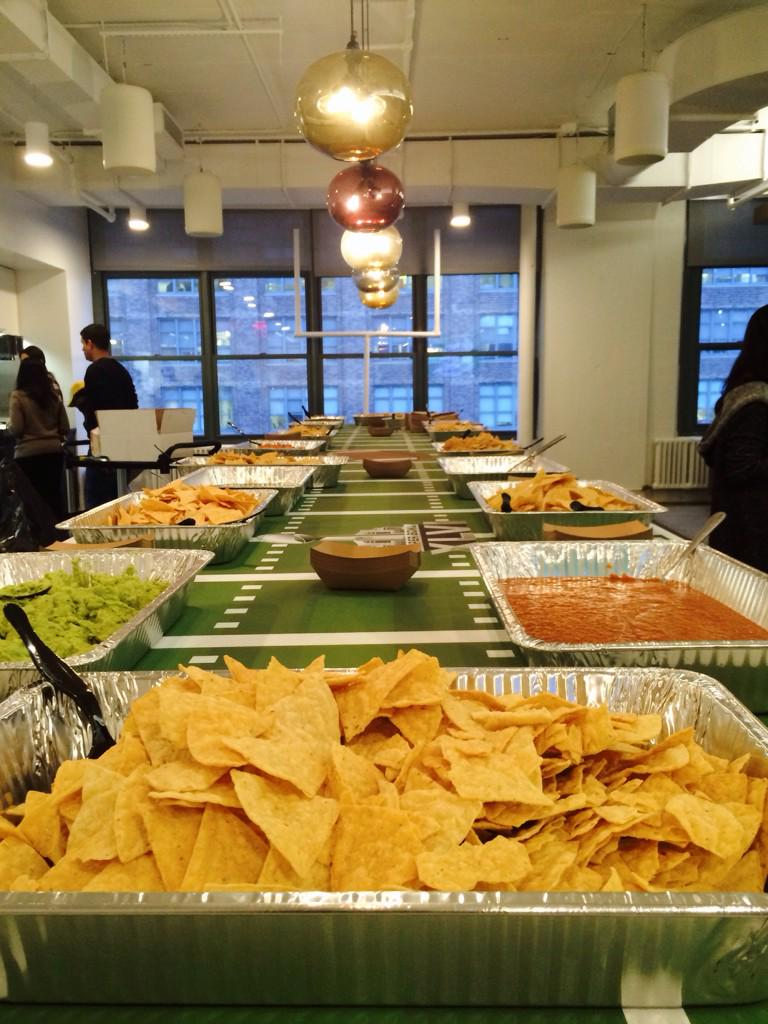 #havasvillage NY Super Bowl Tailgate👊 http://t.co/1YUz8bILCo