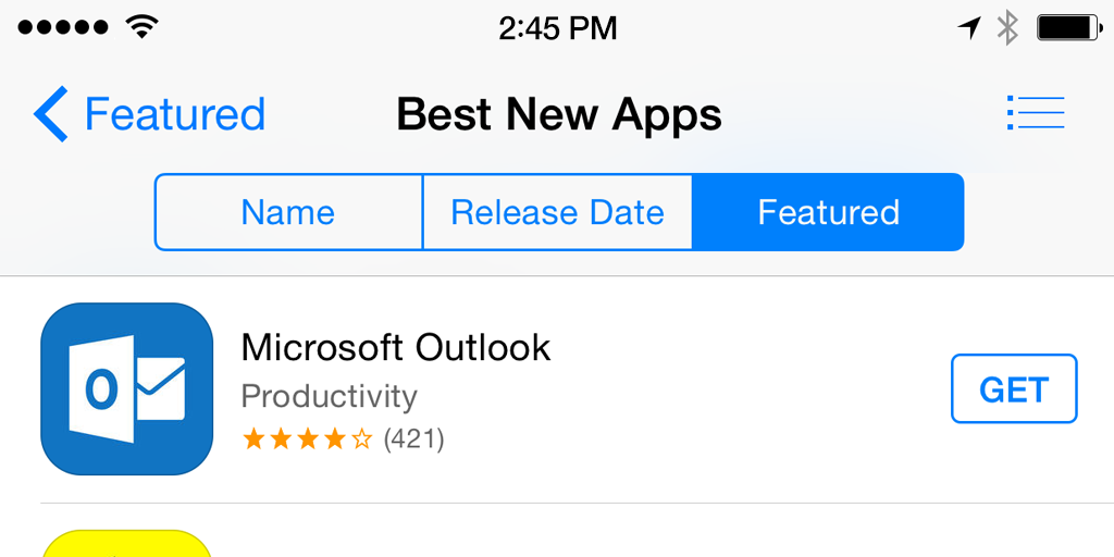 Yay! According to the @AppStore, @Outlook is the best new #email app. Download yours free! http://t.co/GIgwfafqu6 http://t.co/Ic5hbfdFPN