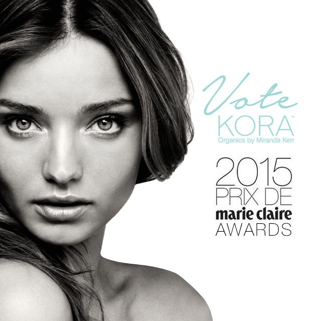 Vote @koraorganics for Best Australian Beauty Brand in the 2015 Prix de @marieclaireau Awards http://t.co/wA09uGYMJk http://t.co/qrfIMT8PUV