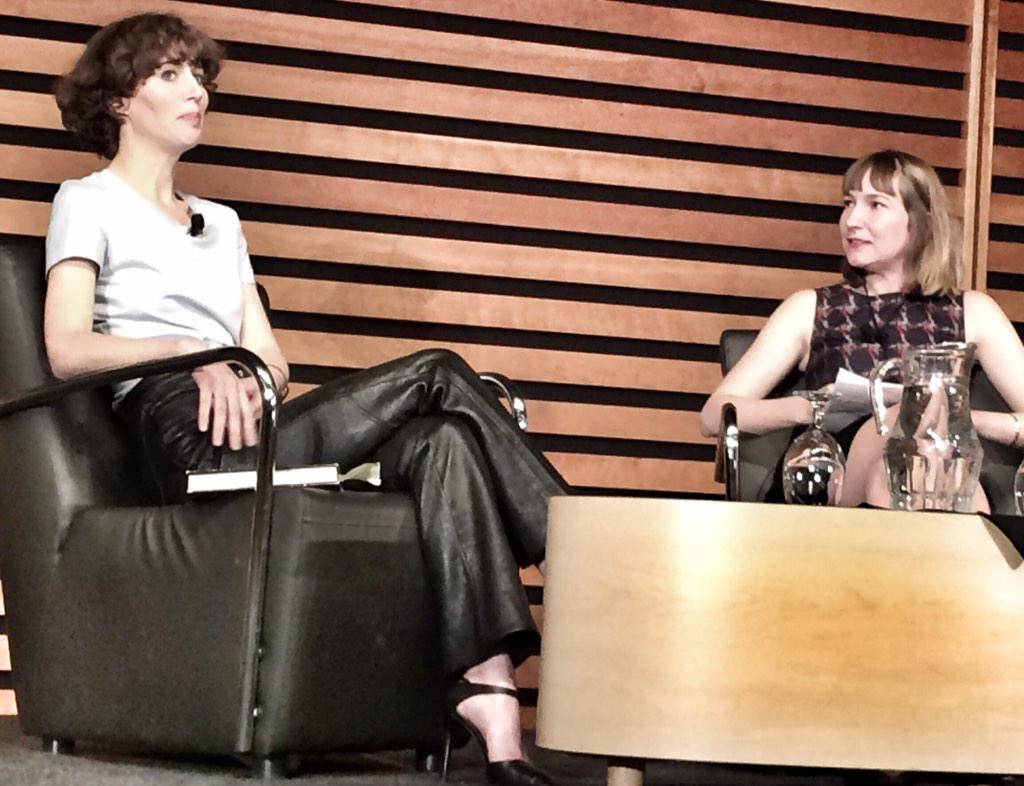 Listening to @Miranda_July talk abt her brilliant new book, The First Bad Man @AppelSalon Lots of laughter! http://t.co/c0ChRcYL81