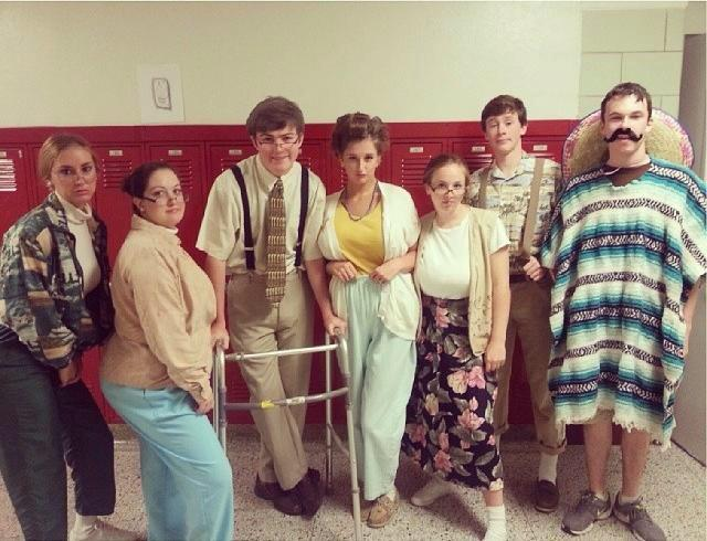 How to dress up like a senior citizen