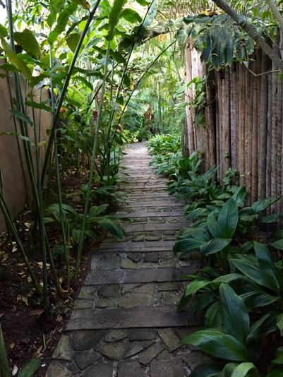 Pathway to paradise .... @ Uxua Casa Hotel http://t.co/jqokYNZK8a