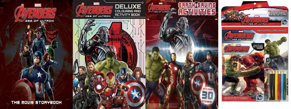 AVENGERS AGE OF ULTRON Storybook Coloring Book Sticker Set And Morepictwitter UMuQcZGEeh