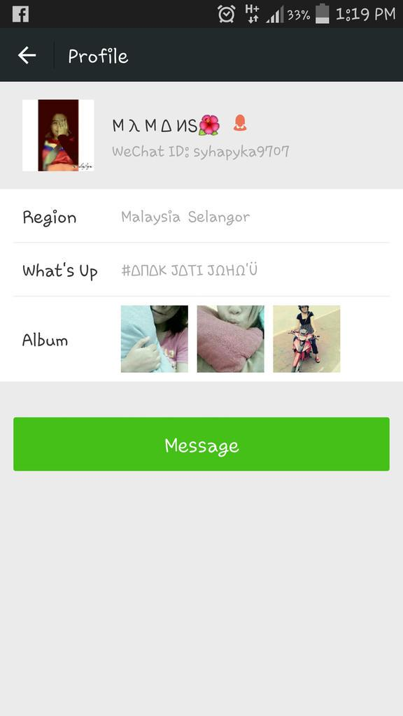 Id wechat malaysia fl How to