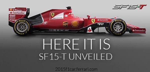 Ferrari SF15-T di Formula 1 2015: video presentazione e caratteristiche tecniche