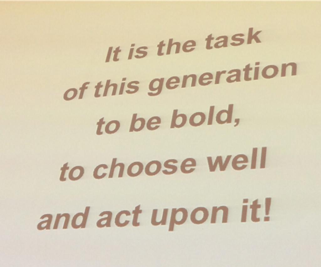 Mooie oproep van Carlota Perez #TechandSociety http://t.co/Yl5Bk3sJNr