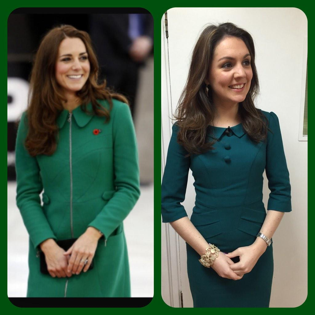RT @Lauratobin1: Do you agree with @susannareid100 & @kategarraway that I look like Kate Middleton? @gmb #RoyalTwin #flattered http://t.co/…