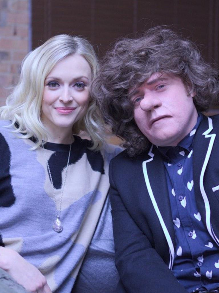 had a lovely sleep in.Got the screening of the first ep of #keithlemonsketchshow tonight! Airs Feb 5th 10pm itv2 http://t.co/a2Q9eKLAl9