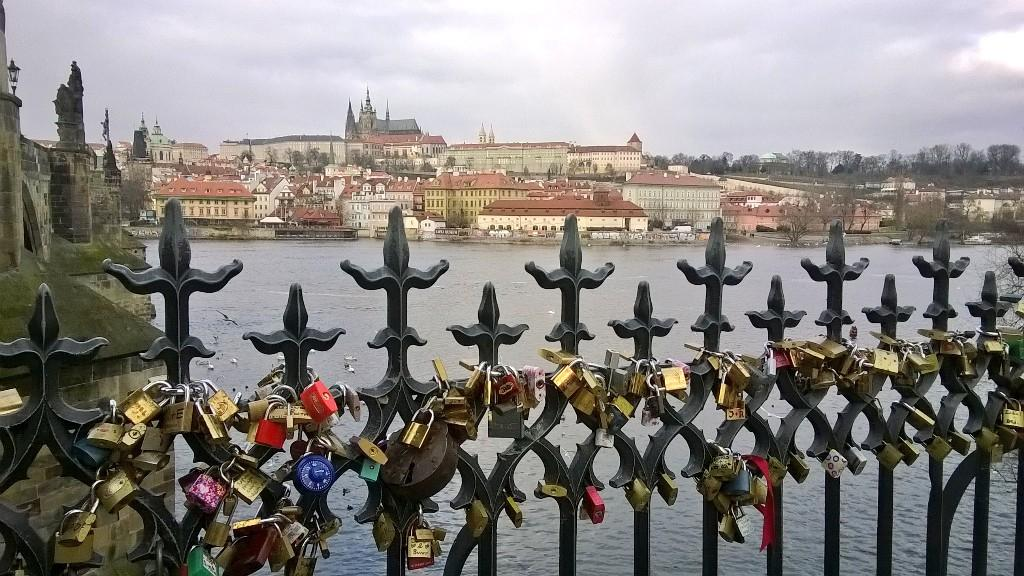 #Locks of #lovers flooded the ci