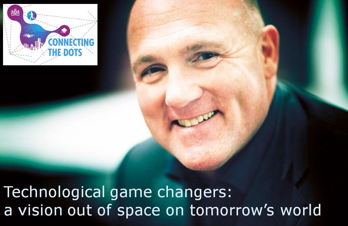 Astronaut @astro_andre starts his vision out of space on tomorrow's world #TechandSociety http://t.co/RAbPqd4rkv