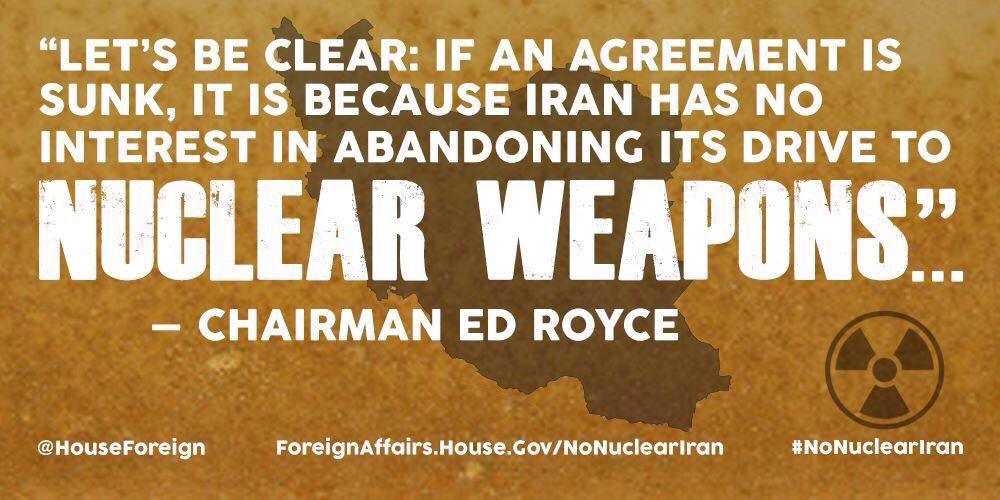 Increased sanctions on #Iran would provide more leverage, not derail #IranTalks http://t.co/tF4zDwQ1gT #NoNuclearIran http://t.co/mh9BKioJhD