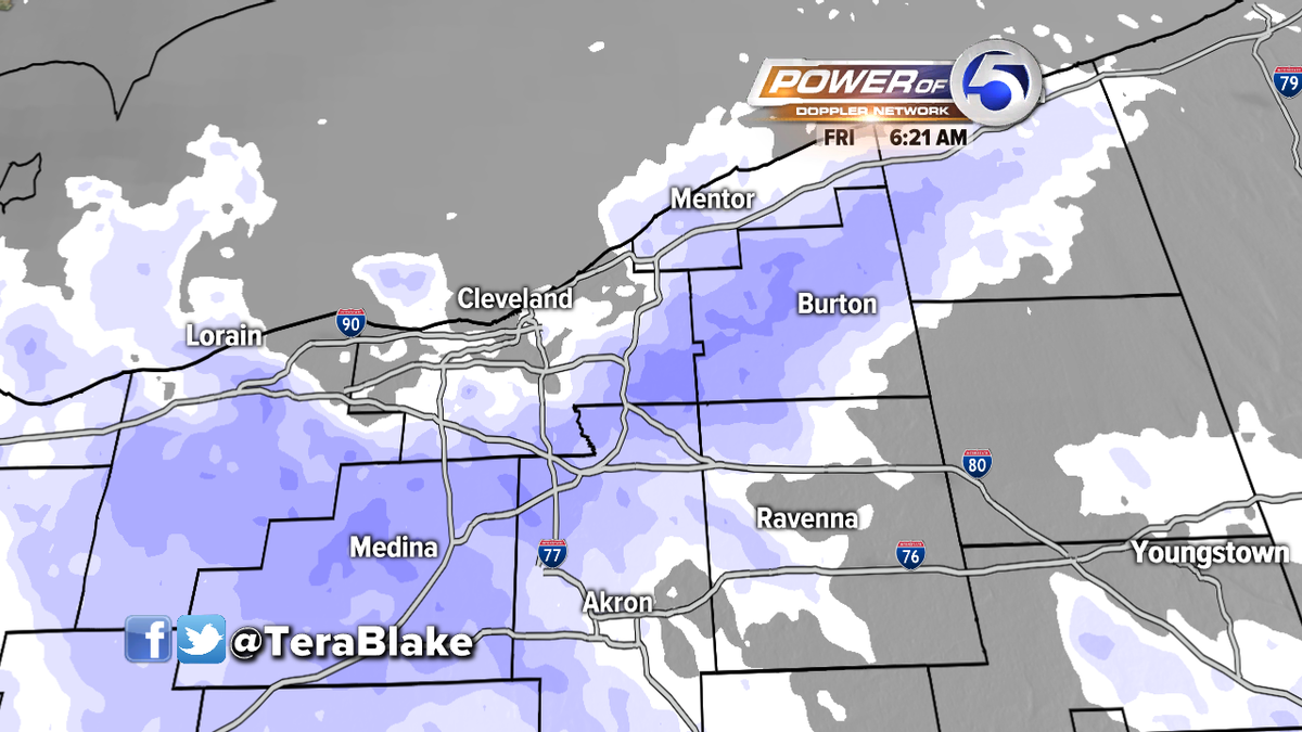 Heavier snow now in Lorain & Medina counties...especially Medina near 71 & 20.  BE CAREFUL- difficult drive this am. http://t.co/3mDbWZKKe4