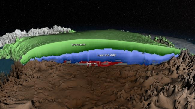 """Nice visual! """"@Reportingclimat: """"First radar map of Greenland Ice Sheet's ice layers  http://t.co/YhyIs6ahMb"""" http://t.co/tShDvdp98O"""""""
