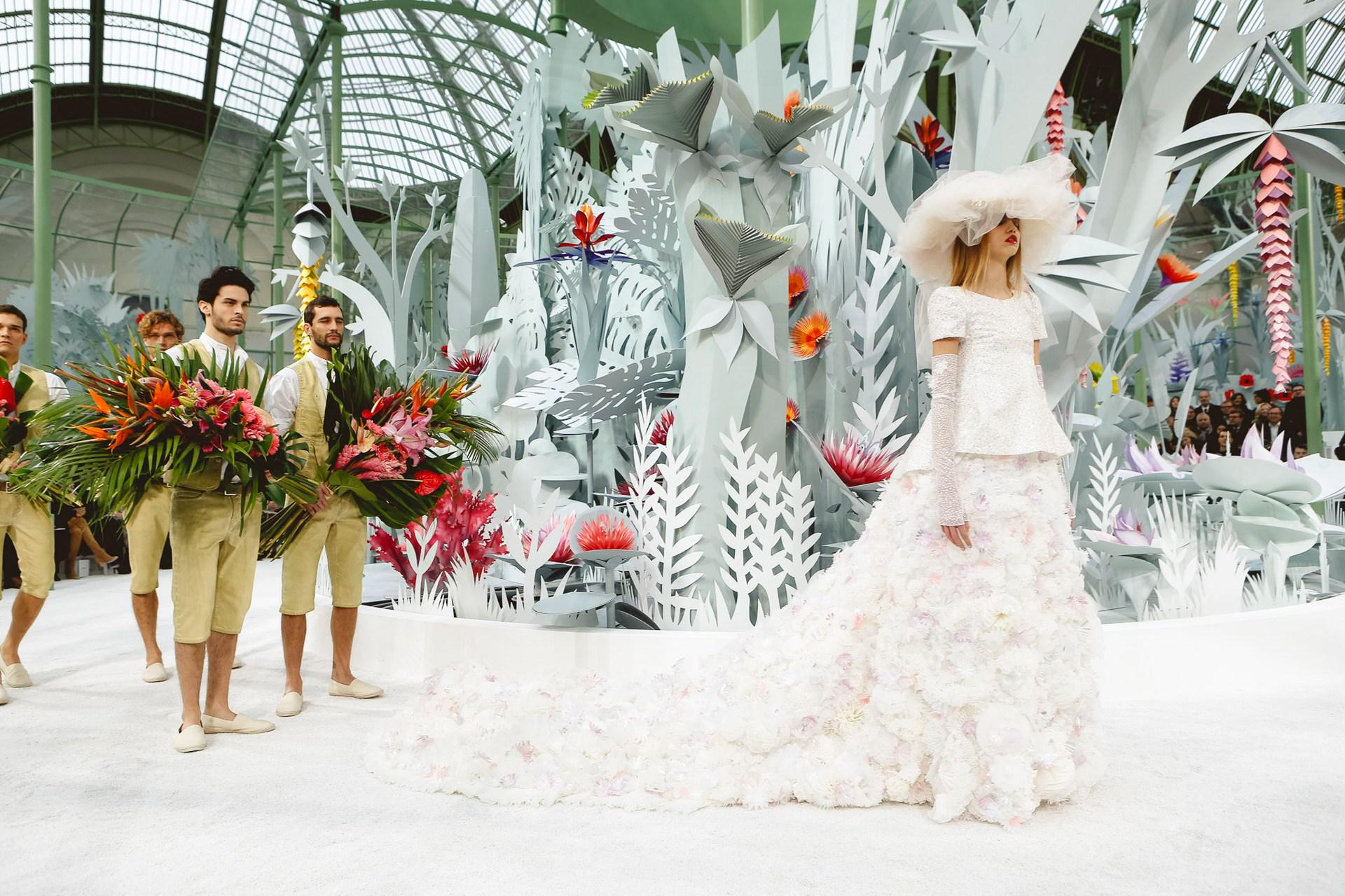 WATCH: Karl tell us what makes couture couture - http://t.co/OG3B5jrthT http://t.co/zpWahA8Y8D