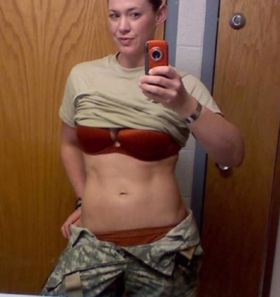 former female marine naked