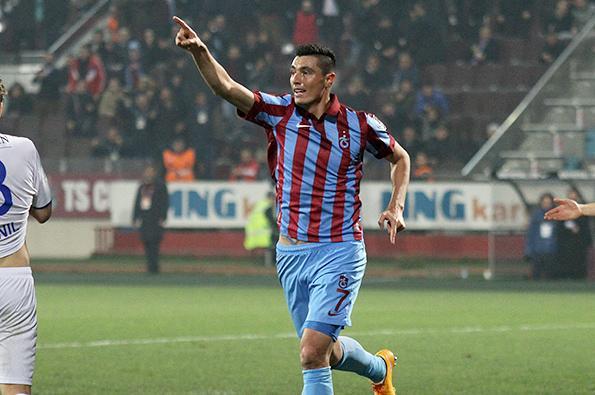 Trabzonsporlu gol kralı cardozo