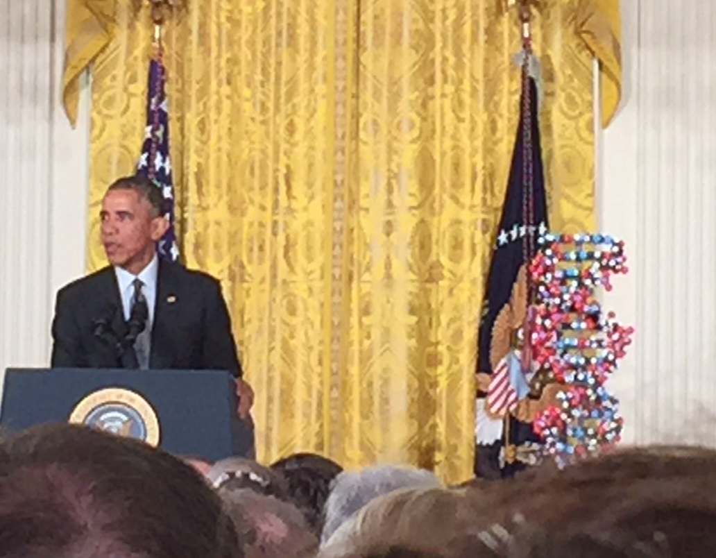 .@BarackObama cites @CF_Foundation's #Kalydeco as prime example of how #precisionmedicine can save lives #patients http://t.co/i7YZzQNVLk