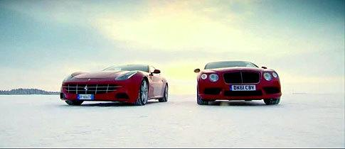 Ferrari FF Vs. Bentley Continental V8 on Ice! – Top Gear http://t.co/z23xHT2Tzf http://t.co/O836LBZYnQ