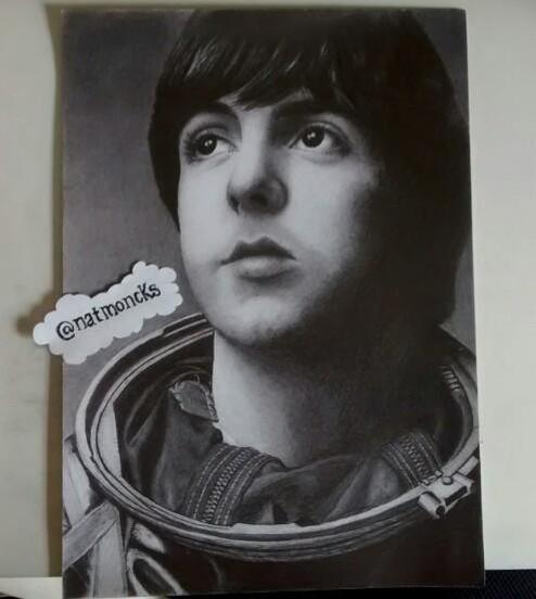 This week's #FanArtFriday is by ​Twitter user @natmoncks. Post your art using the hashtag #whatsnewPaul http://t.co/uN6xxxS7pB