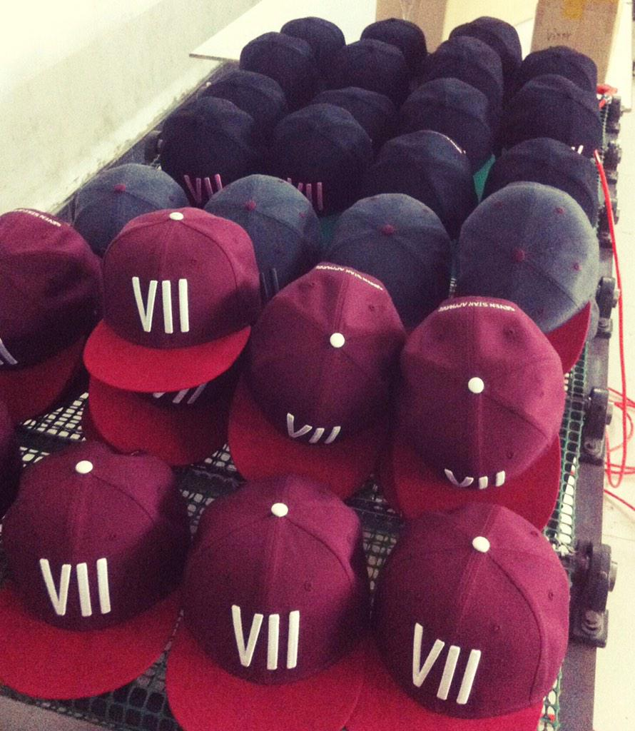 RT @7StarApparel: *RESTOCK* burgundy #vii & others back in stock via http://t.co/GuidZloEeK supported by @CalumBest #SevenStarApparel http:…