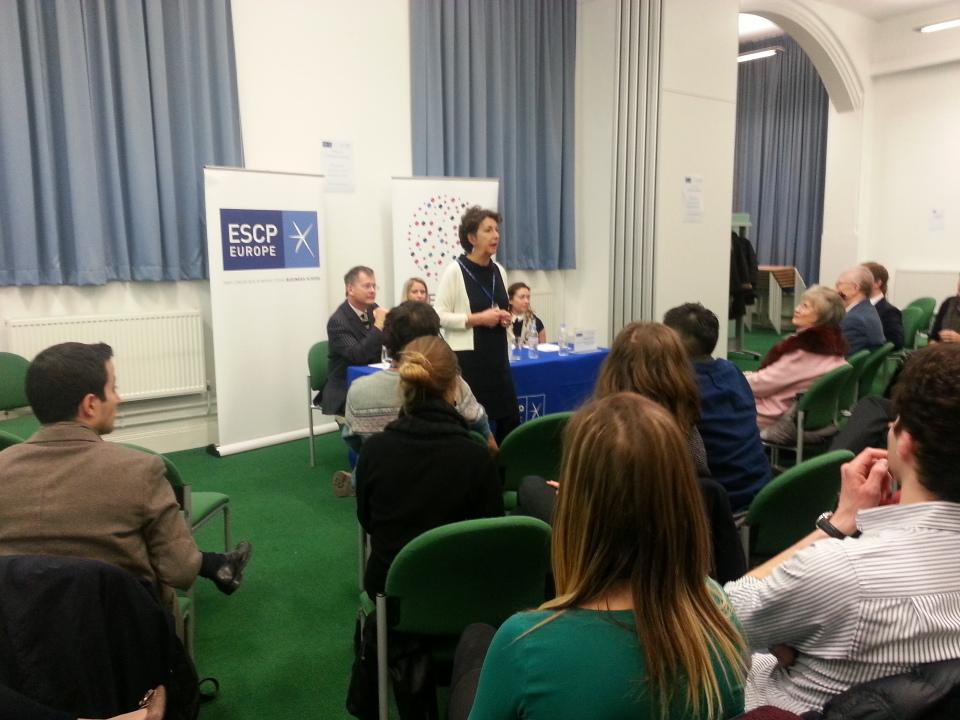 @marietaillard  welcomes all attendees to our forum on Creativity&Start-ups @ESCPeurope  #creativitymktg #StartUpsLDN http://t.co/05zCGikg1E