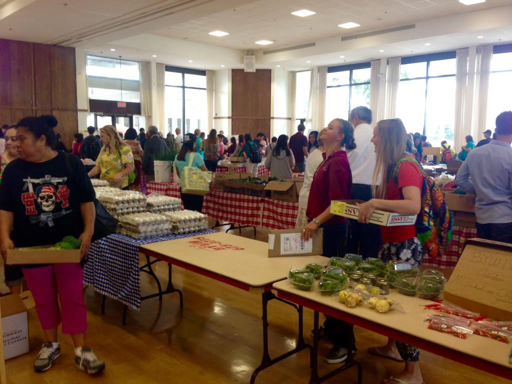 BYU Hawaii On Twitter Head Over To The Farmers Market Today From 1030AM 2PM In Aloha Center Ballroom Tco OO9GNzVU6H