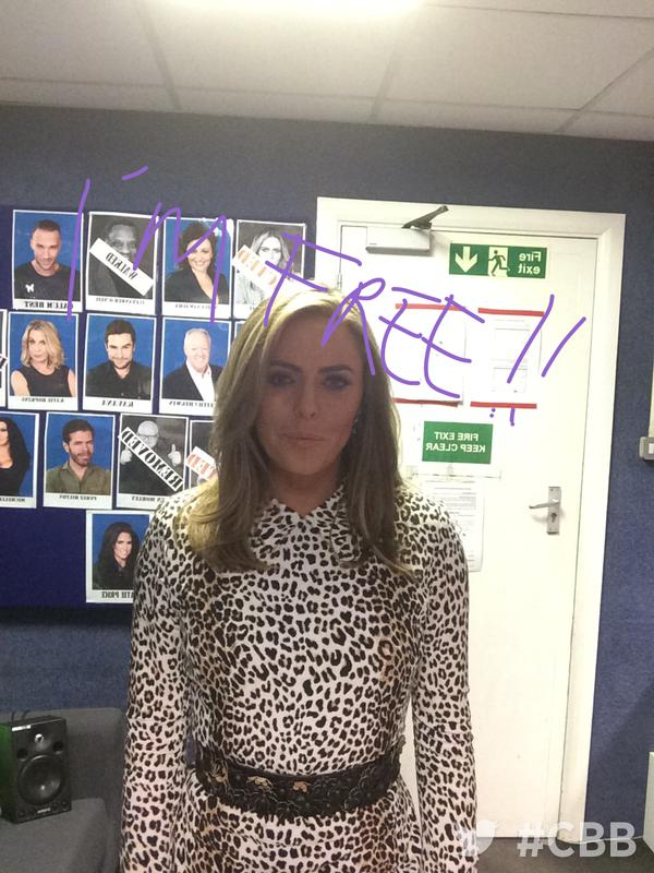 Coming up straight after tonight's eviction, #CBBBOTS will be welcoming back free woman, the lovely @patsy_kensit! http://t.co/yUajYD8QEh