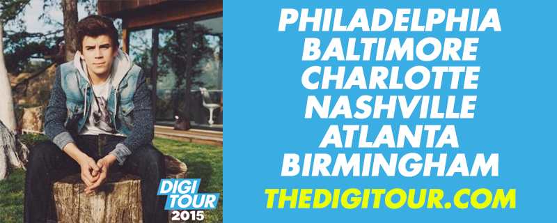 BREAKING NEWS: Meet @HayesGrier at #DigiTour2015 in these cities!!