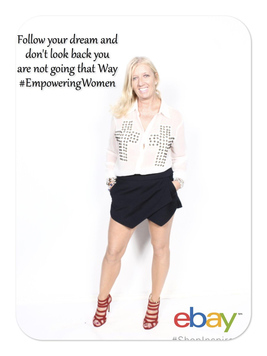 #EmpoweringWomen #Top100 @EmpowerWRadio Don't look back You are not going that way http://t.co/VHIu1pwVWt