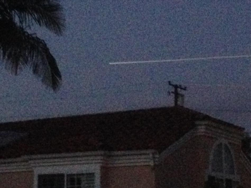 Nicely done @NASASMAP. Great view of launch all the way from LA. #NASASocial. http://t.co/Q79CRuQvKV