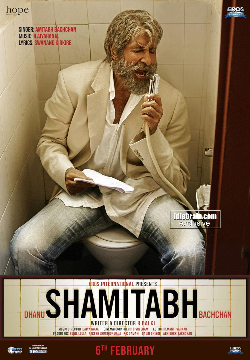 Shamitabh (2015) Movie Poster No. 3